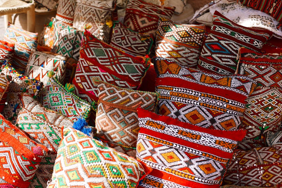 African Print Decorative Pillows